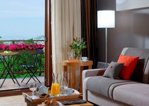 Suites with View and Fireplace, Pilion Terra Hotel | Hotels in Pelion | Portaria Hotels|  Portaria | Pelion | Volos | Greece